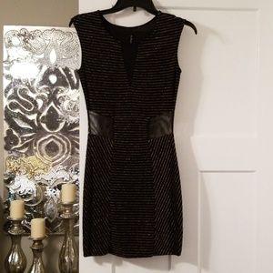 Sheer Cut Out Dress